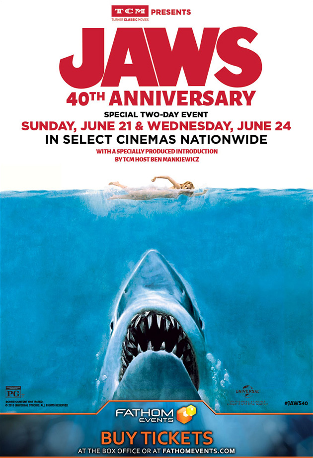 Jaws back in theaters