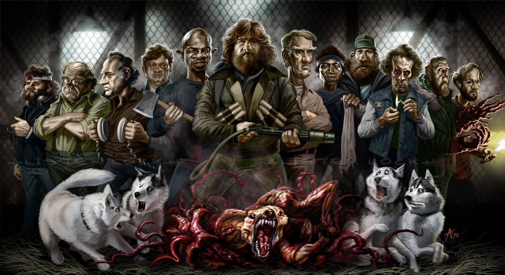 The Thing - Deviant Art by Alister Lockhart
