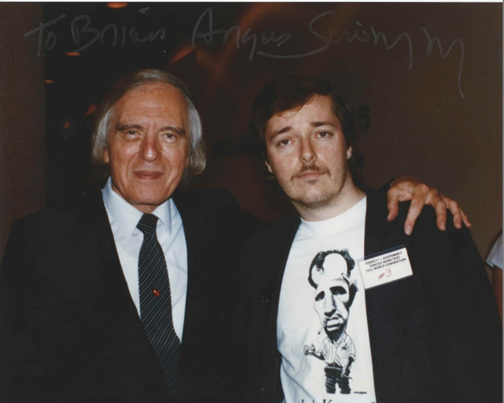 Angus Scrimm and me
