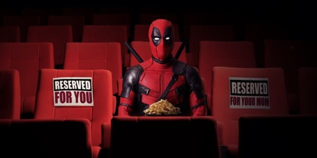 Deadpool in theater
