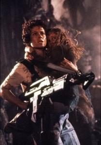 Aliens Ripley with Newt