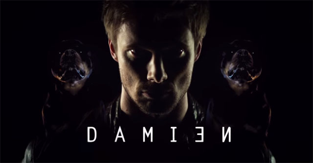 Damien - with dogs