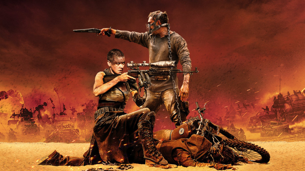 Mad Max Fury Road - Max and Furiosa