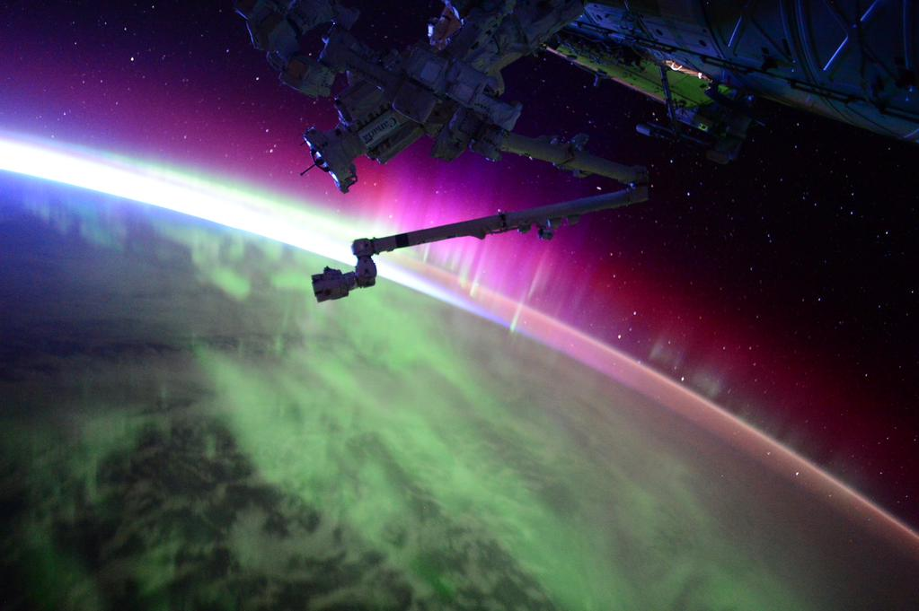 Scott Kelly aurora