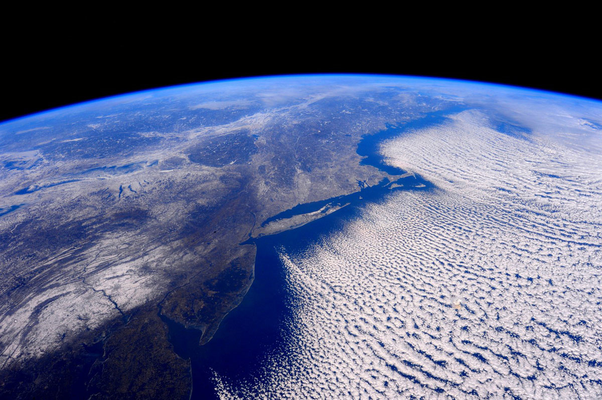 Scott Kelly pic - NJ from space