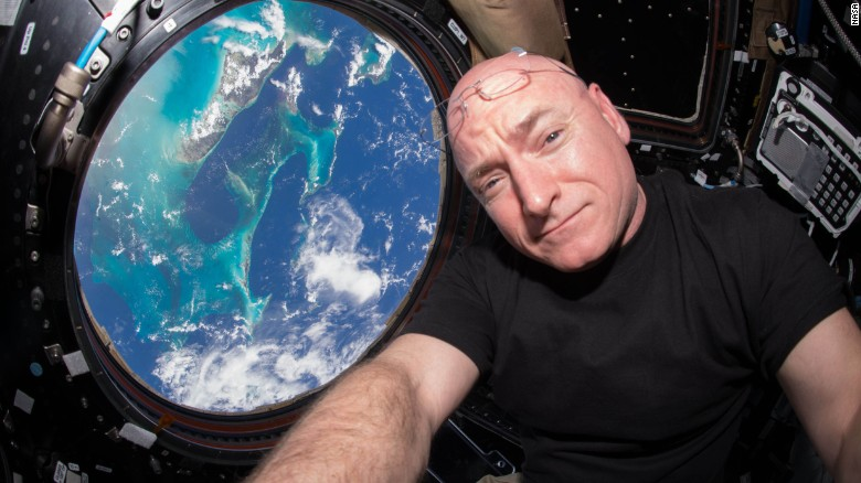 Scott Kelly window view