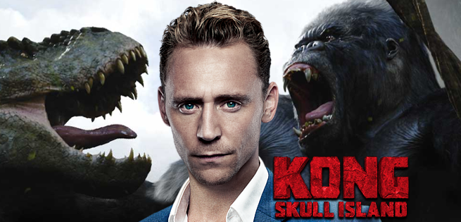 Kong Island - Tom Hiddleston