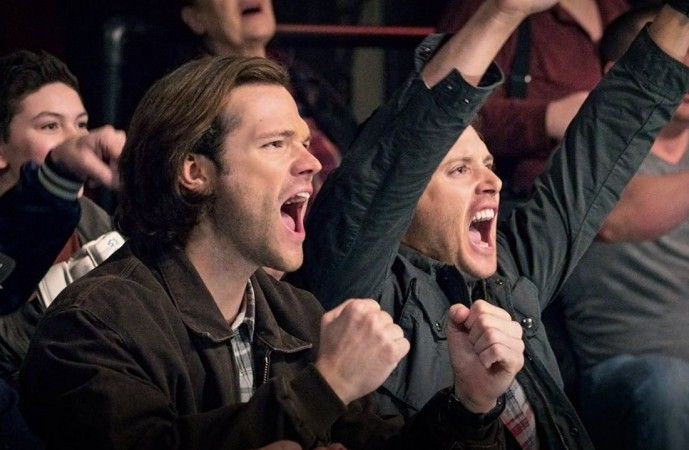 Supernatural - wrestling fans
