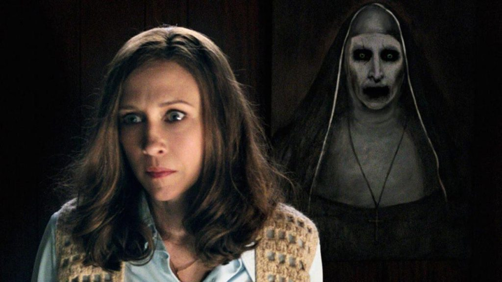 The-Conjuring-2 -Vera and Nun