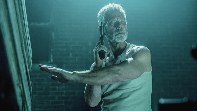 Don't Breathe - blind