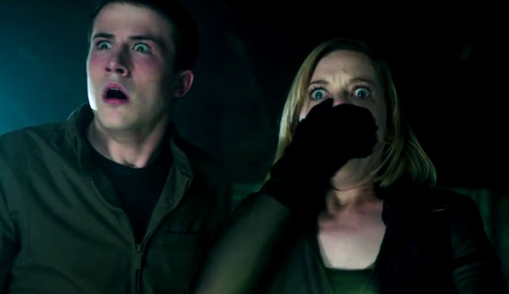 Don't Breathe - shocked