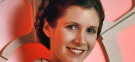 R.I.P., Carrie Fisher, forever Princess Leia